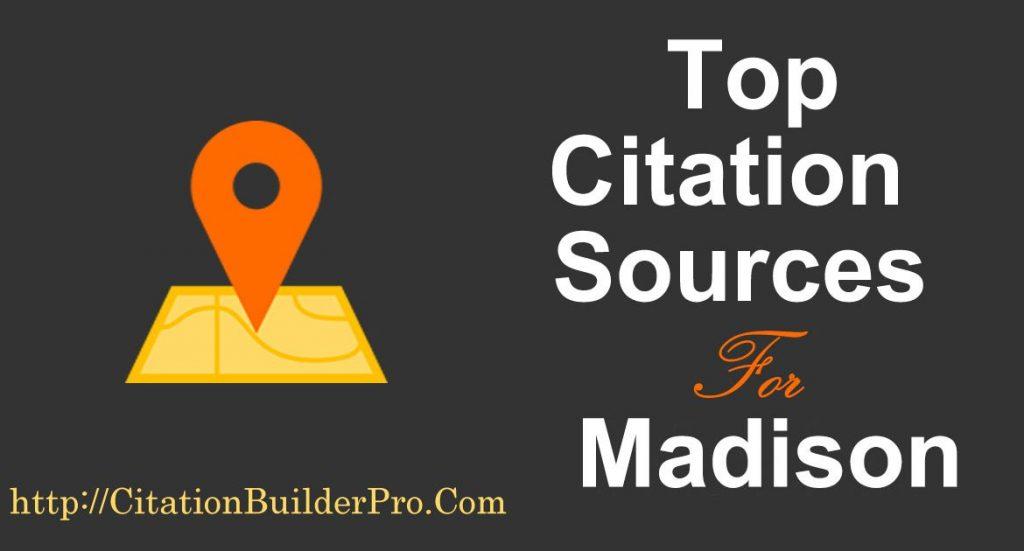 Top Local Citations Madison Citation Builder