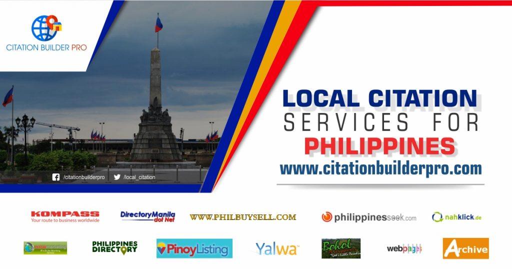 Philipines-local-citation-service