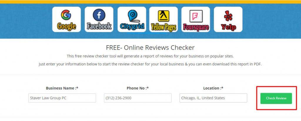 review checker