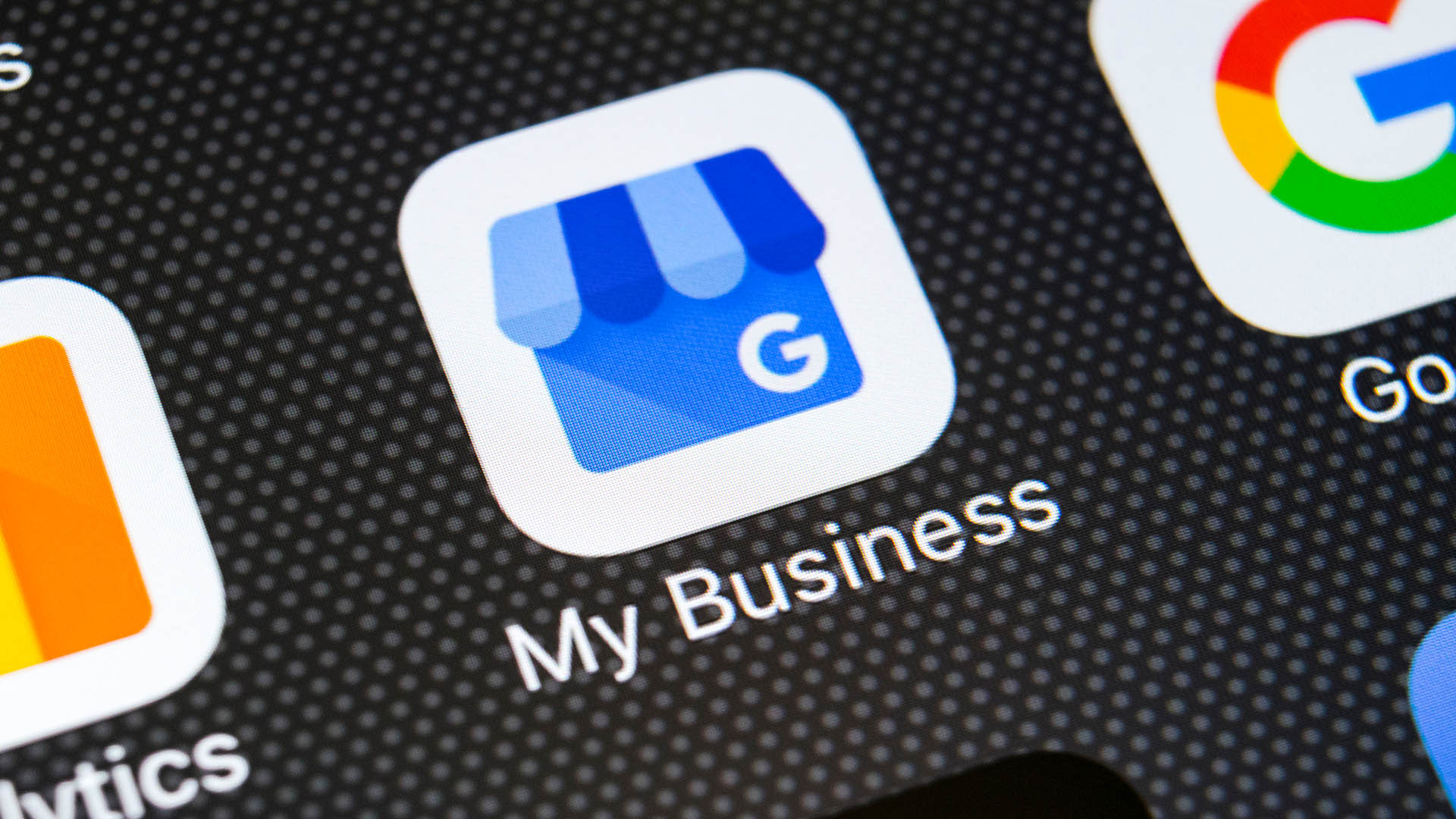 what are labels in google my business