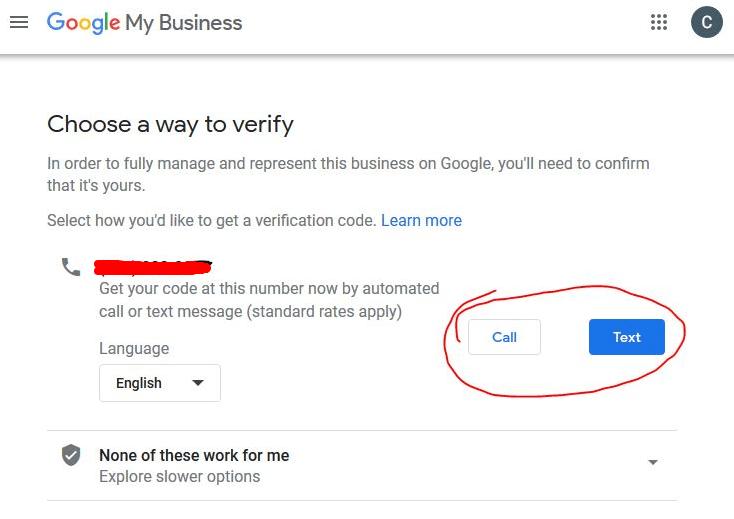 phone call verification