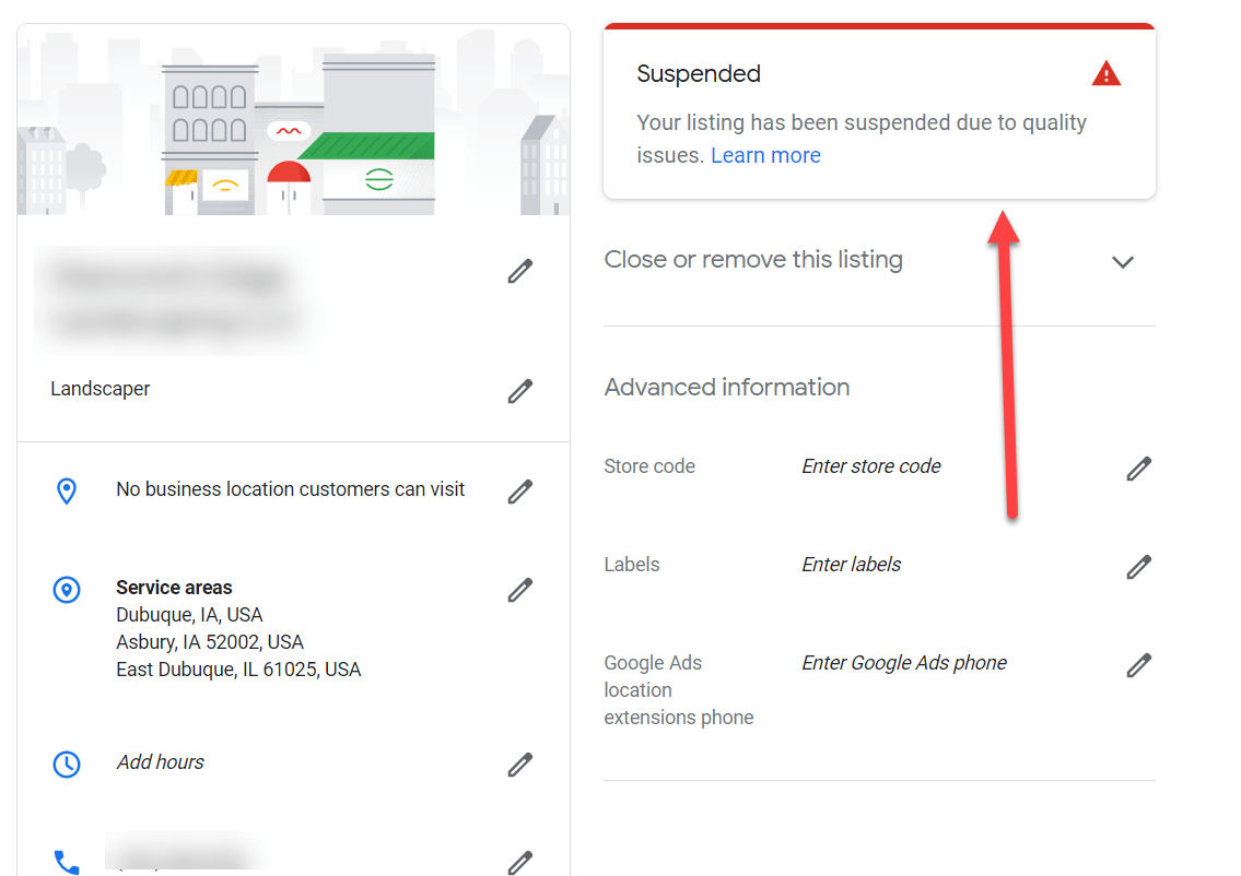 Why doesn't my business show up on Google?